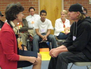 Demonstration of coaching conversations