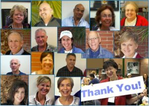Volunteer Success Coaches are community members dedicated to their work coaching students.